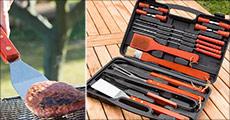 Køb en grill-kuffert inkl. 18 dele forhandlet fra NuDeal, værdi kr. 499,- og vær klar til at gå grill sæsonen i møde med stil.