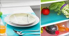 Er rengøring af køleskabet heller ikke din favoritbeskæftigelse, så kan du glæde dig til at modtage 4 stk. blå antibakterielle køleskabsmåtter. Værdi kr. 329,-