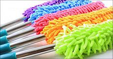 Brug den populære microfiber Duster til rengøringen derhjemme - vupti, det går hurtigt. Fås i flere farver. Værdi kr. 349,-
