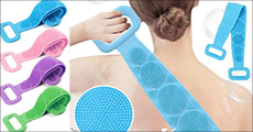 Eksfolierende body børste fra The 99 inspirations, fås i flere farver og størrelser. Værdi kr. 349,-