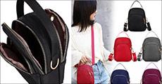 Lækker letvægts crossbody taske fra The 99 Inspirations, fås i flere farver. Værdi kr. 379,-