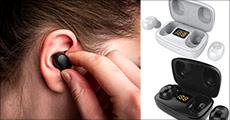 1 sæt earbuds med opladeræske, fås i sort eller hvid. Værdi kr. 799,-