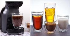 Enkelt, flot design - Flotte glas til kolde og varme drikke. Fås i flere størrelser. Værdi op til kr. 929,-