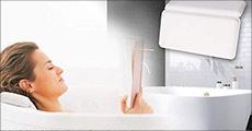 1 stk. luksuriøs polstret nakkepude til brug i badekarret fra The 99 inspirations. Værdi kr. 599,-