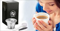 Genanvendelig kaffekapsel, 1 eller 2 stk. med eller uden stamper. Værdi op til kr. 1349,-